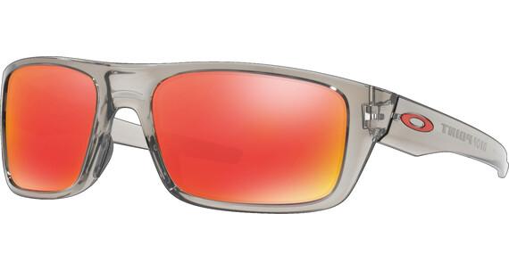 Oakley Drop Point - Lunettes cyclisme - gris/transparent